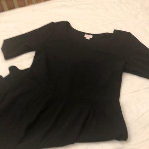 3XL Black Nicole Dress